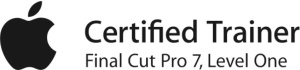apple final cut trainer certification logo